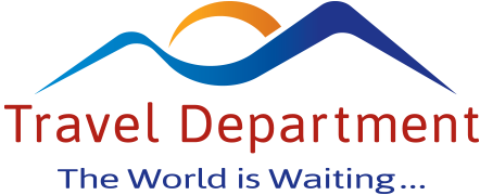 Travel department logo