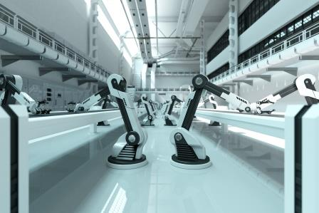 Industrial automation, robotic manufacturing
