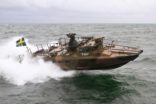 Stridsbåt 90 / Combat boat 90.