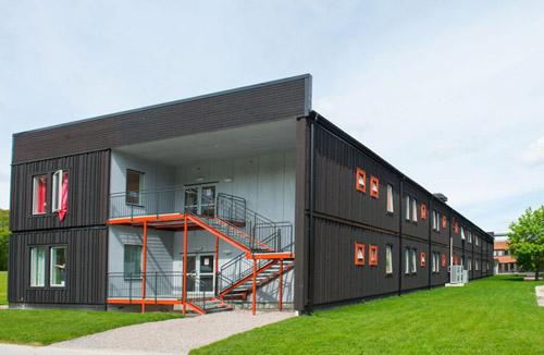 Geriatric care unit at Löwenströmska Hospital, PCS Modulsystem modular buildings image