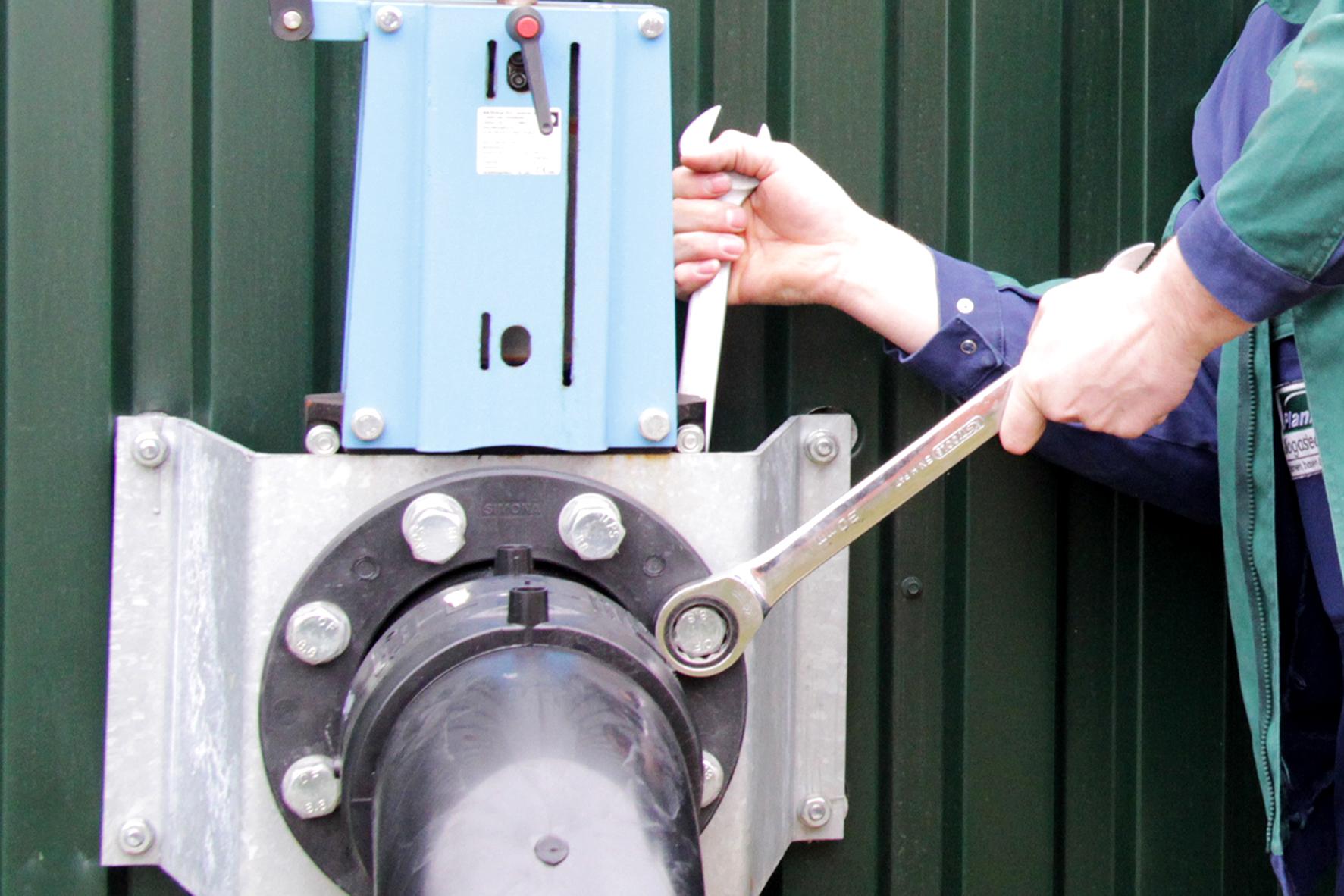PlanET Service, Schnell Motoren, biogas image