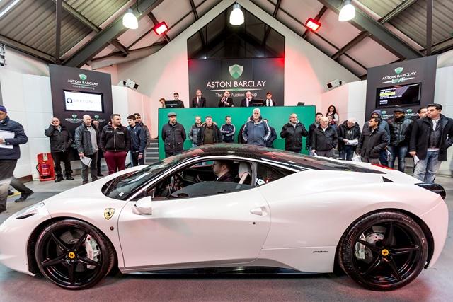 Aston Barclay, car auction group image