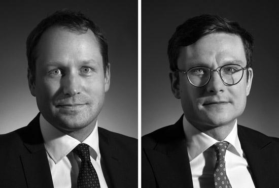 Daniel Ohlsson and Henrik Widlund